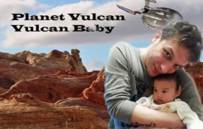 Vulcan Baby, Iris is really from Vulcan.